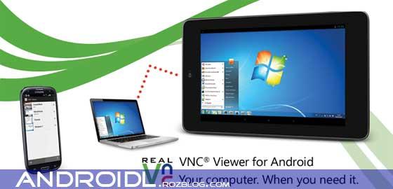 کنترل گوشی توسط کامپیوتر با VNC Viewer v1.2.5.108866